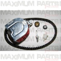 Filters, Drive Belt, Thermostat, Spark Plug CN 250