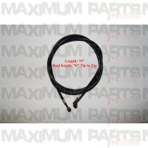 6.000.091 Brake Hose 75 inches