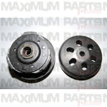 M150-1031000 Driven Pulley Assy / Clutch with Bell GY6 150 Top
